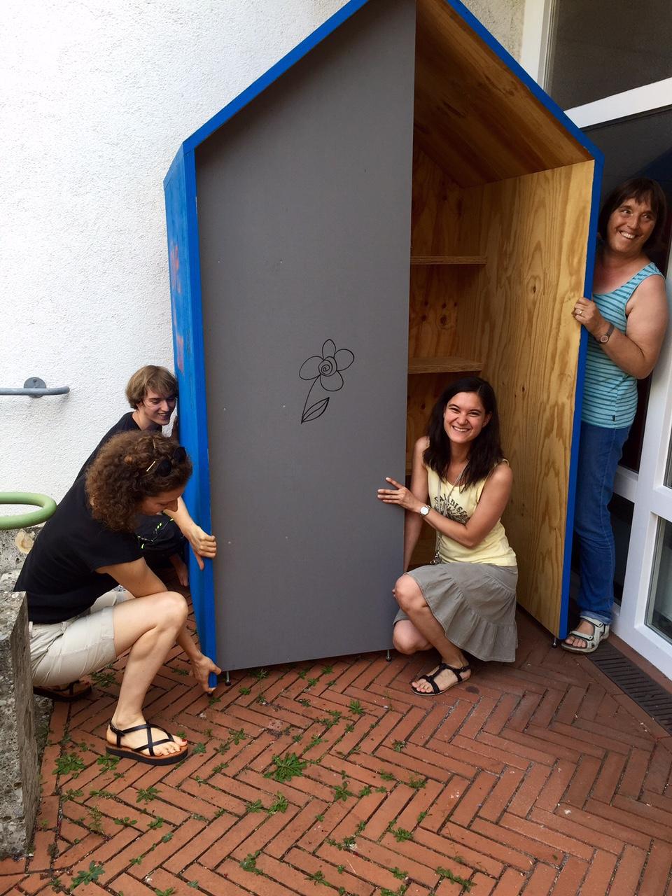 Tauschbox Caritas