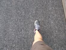 Eine Woche zu Fuß