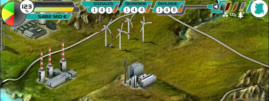 Energiespiel Energetika