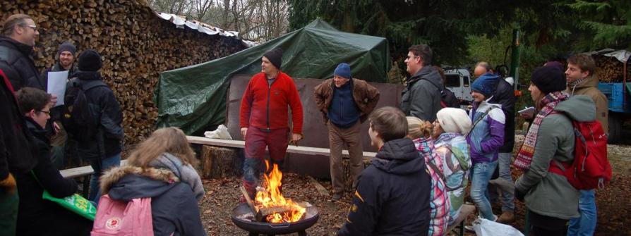 Waldweihnachtsfeier der JIN 2016